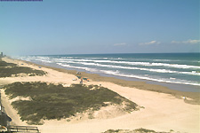 South Padre Beach Cam With Live View Of The At Island Texas