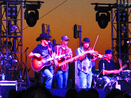 Cody Johnson, Kyle Park, Randy Rogers Concert South Padre