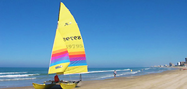 City and County Beaches in South Padre Island