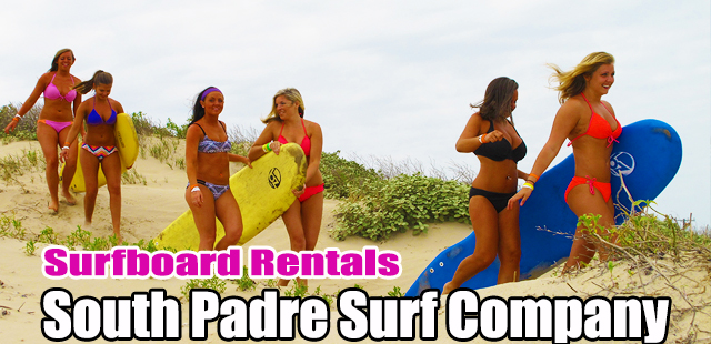 South Padre Surf Company - surfboard rentals in South Padre Island Texas