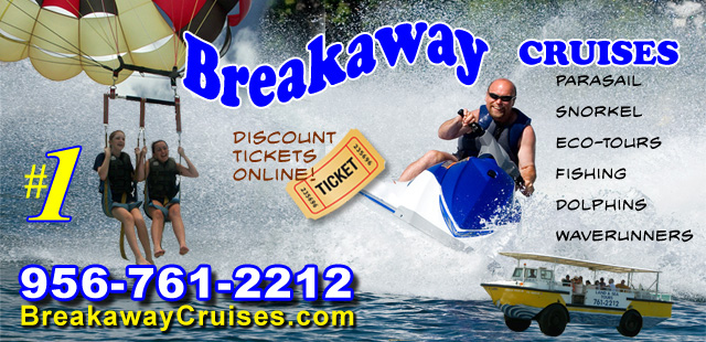 Breakaway Cruises Activities on South Padre Island