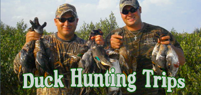 Duck Hunting Trips by Blast to Cast on South Padre Island