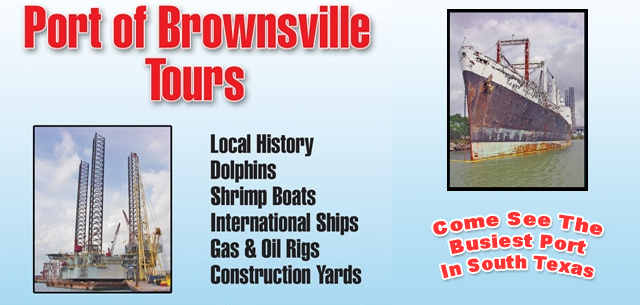 Port of Brownsville Tours from South Padre Island
