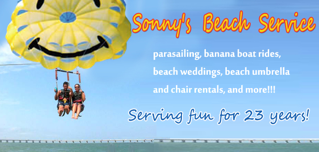 Sonny's Beach Service - activities and water sports in South Padre Island Texas