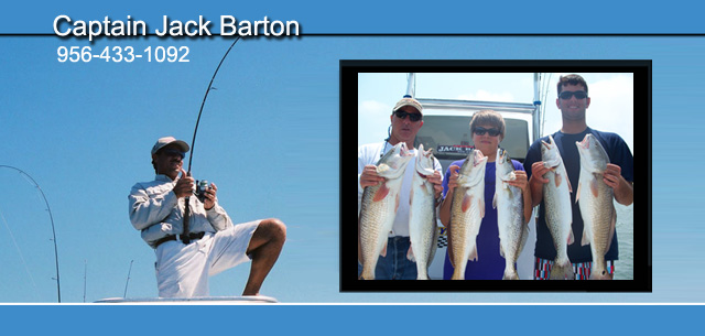 Captain Jack Barton South Padre Island Bay Fishing Charters