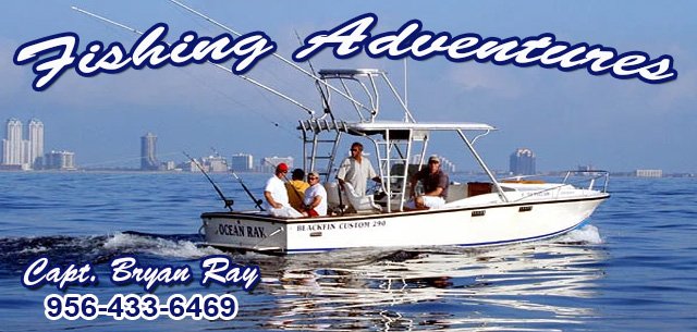 Fishing Adventures deep sea fishing charters with Captain Bryan Ray