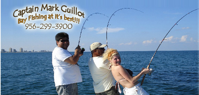 Captain Mark Guillot - Parrot Eyes Fishing Charters in South Padre Island, Texas