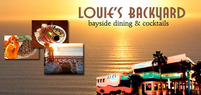 Louie's Backyard bayside dining and cocktails South Padre Island