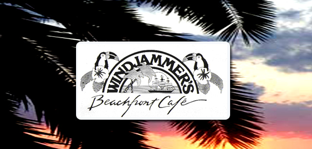 Windjammers Beachfront Cafe at the Isla Grand South Padre Island