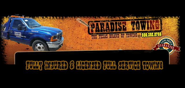 Paradise Towing Company (956)761-8599