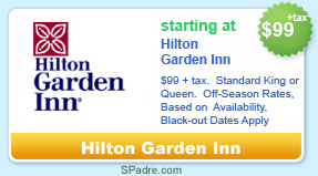 hilton garden inn coupon